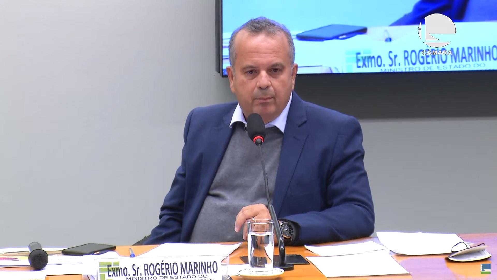 IMAGEM: Rogério Marinho diz que reunião que teve filho 04 foi solicitada pelo gabinete de Bolsonaro