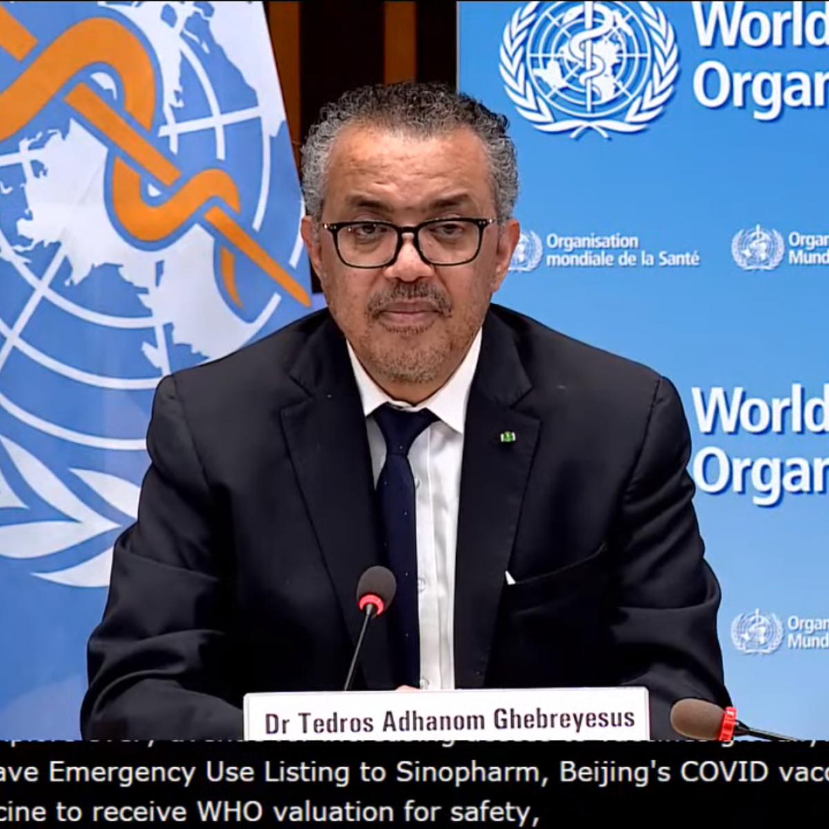 IMAGEM: OMS: China precisa cooperar mais com investigação sobre origem do novo coronavírus