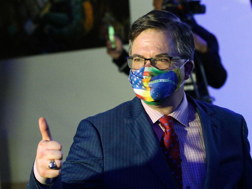 IMAGEM: Embaixador diz que ações ambientais do Brasil no passado não são desculpa para desmatamento