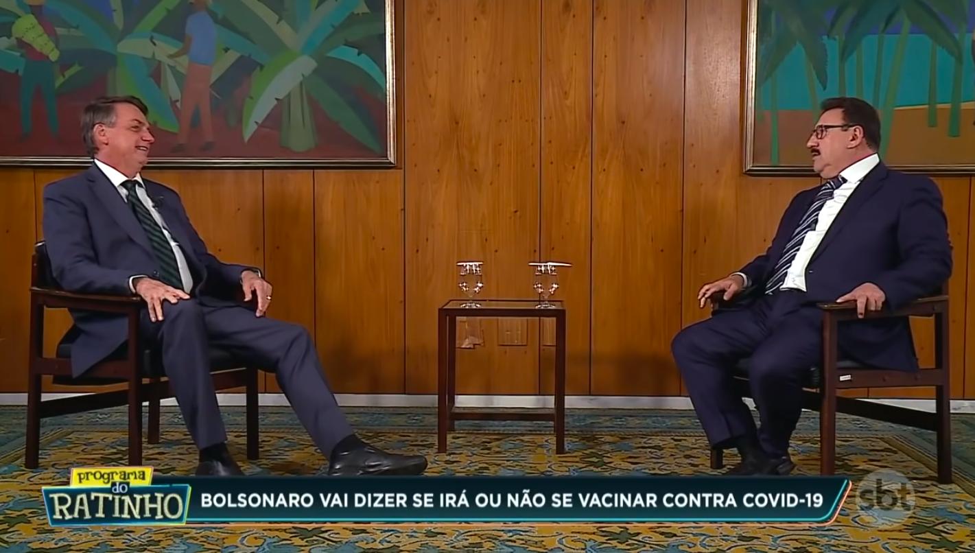 IMAGEM: Entrevista de Bolsonaro dá menos audiência que novela mexicana