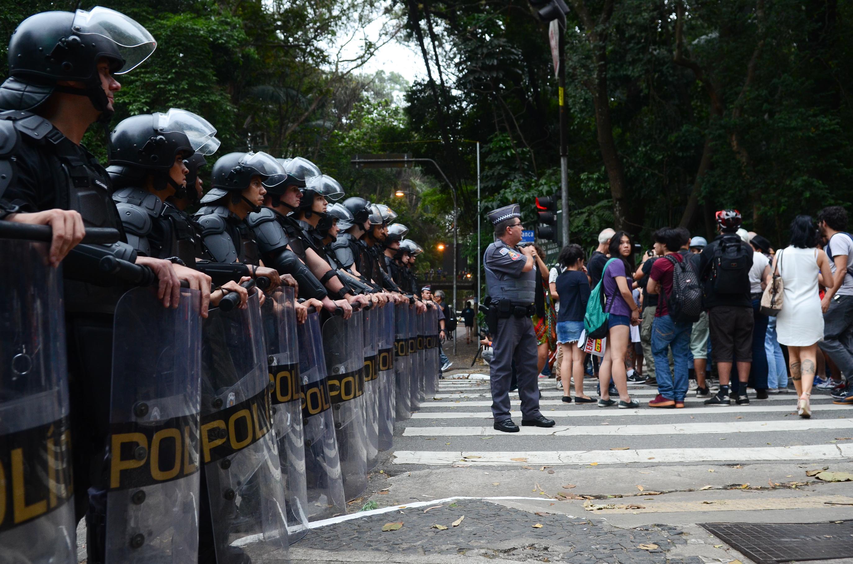 IMAGEM: Chefes de MPs discutem adesão de policiais a atos bolsonaristas