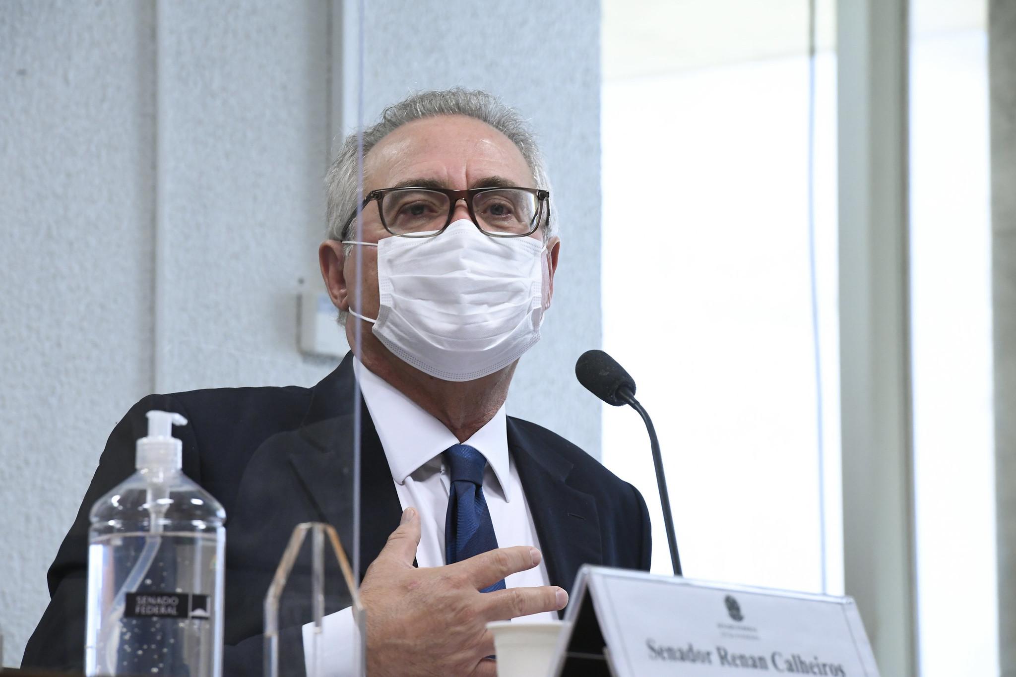 IMAGEM: Relatório de Renan pedirá indiciamento de Bolsonaro por prevaricação