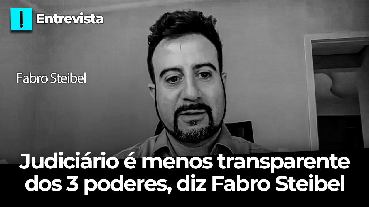 IMAGEM: Entre os três Poderes, o Judiciário é o menos transparente, diz Fabro Steibel