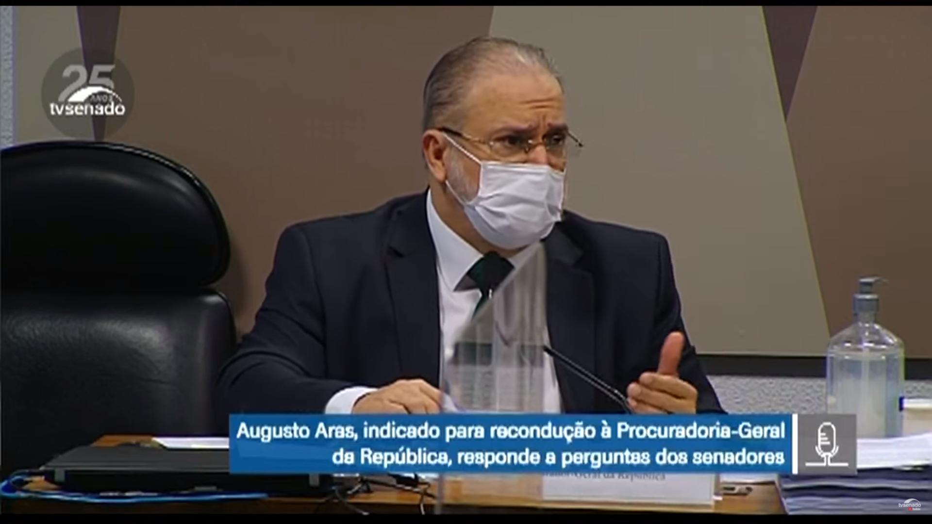 IMAGEM: Aras diz que Brasil vive 'polarização permanente, gravíssima' – mas não aponta o culpado