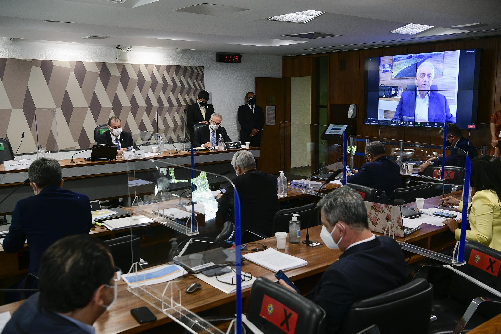 IMAGEM: CPI analisa áudios para fundamentar pedido de prisão de lobista