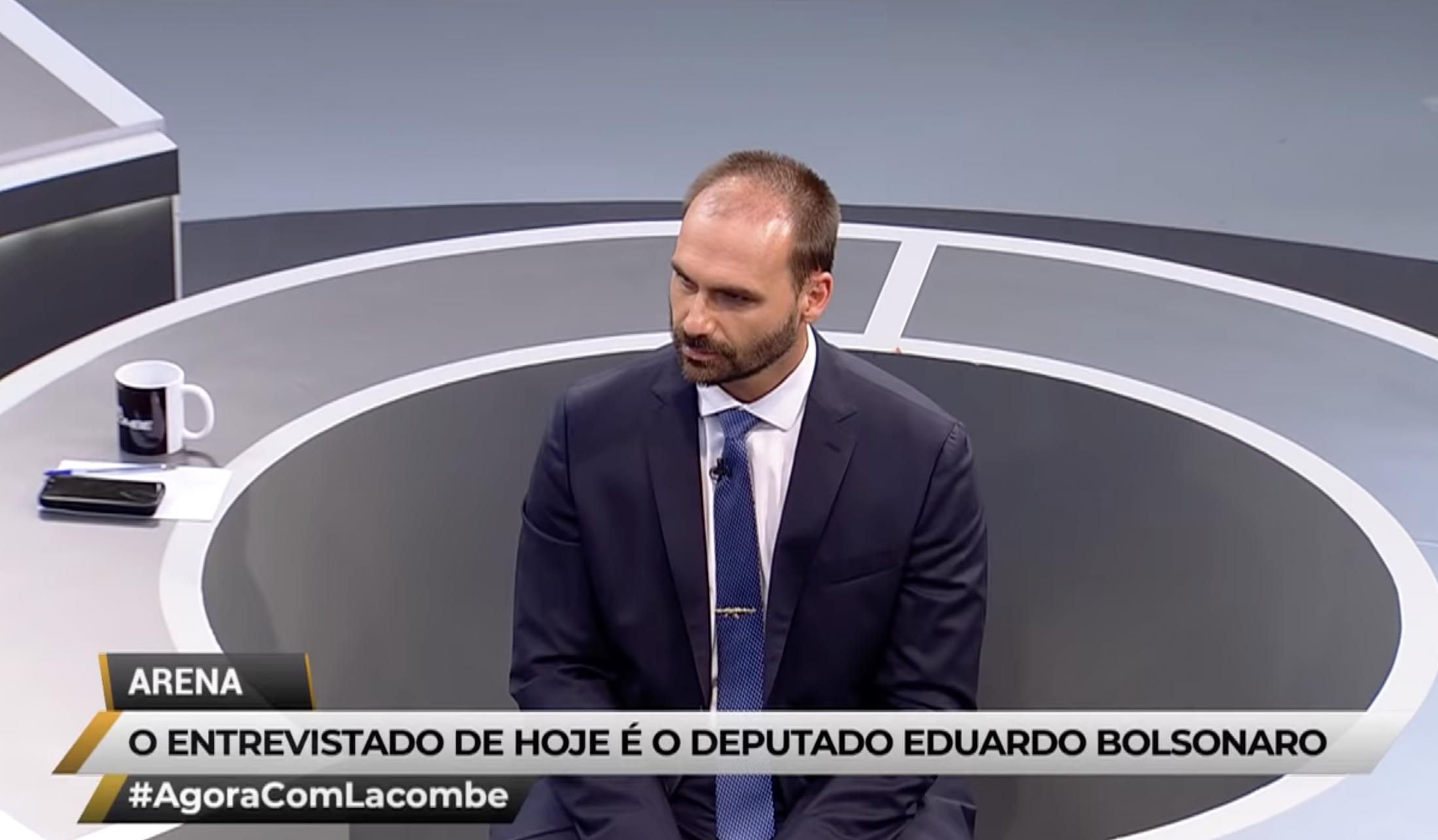 IMAGEM: Eduardo Bolsonaro é ruim de ibope