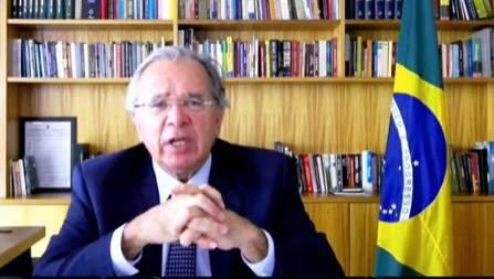 """IMAGEM: Guedes diz que negociação de precatórios via CNJ é """"muito interessante"""""""