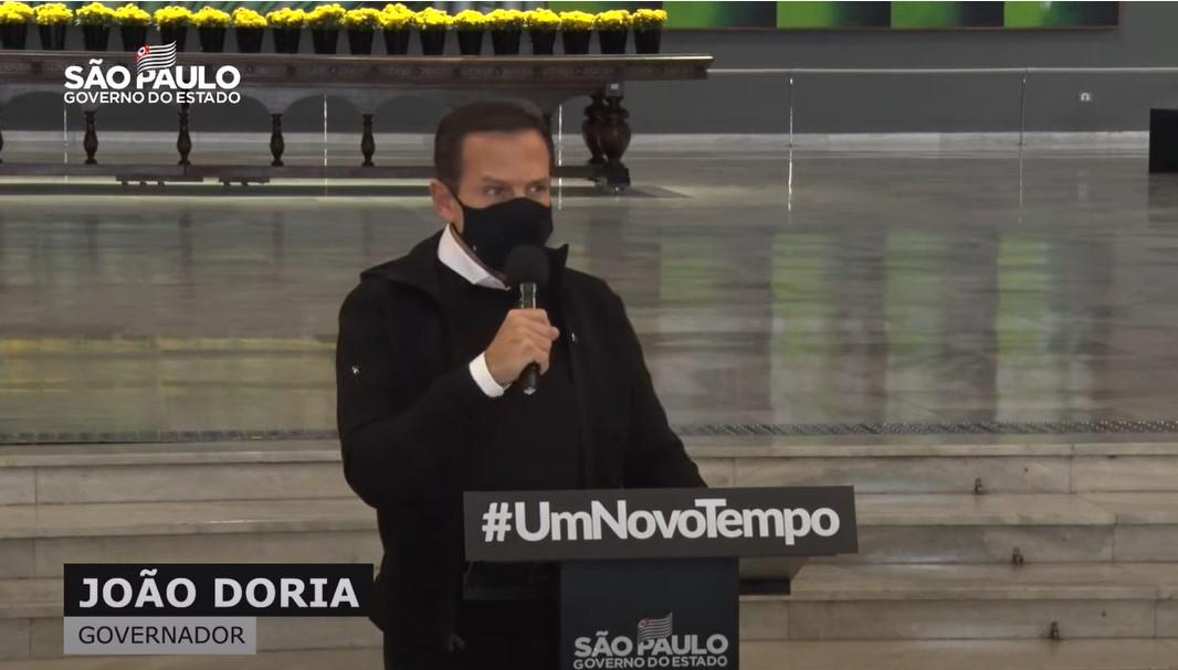 IMAGEM: Doria diz que GP de São Paulo da Fórmula 1 terá 100% do público