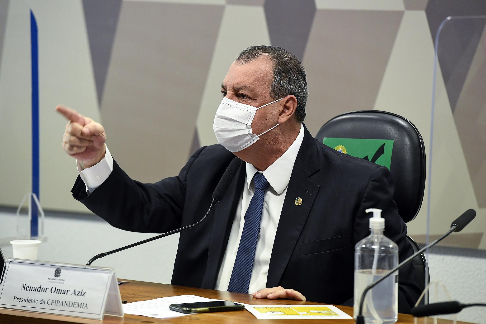 IMAGEM: Omar Aziz defende Luis Miranda após decisão do Conselho de Ética