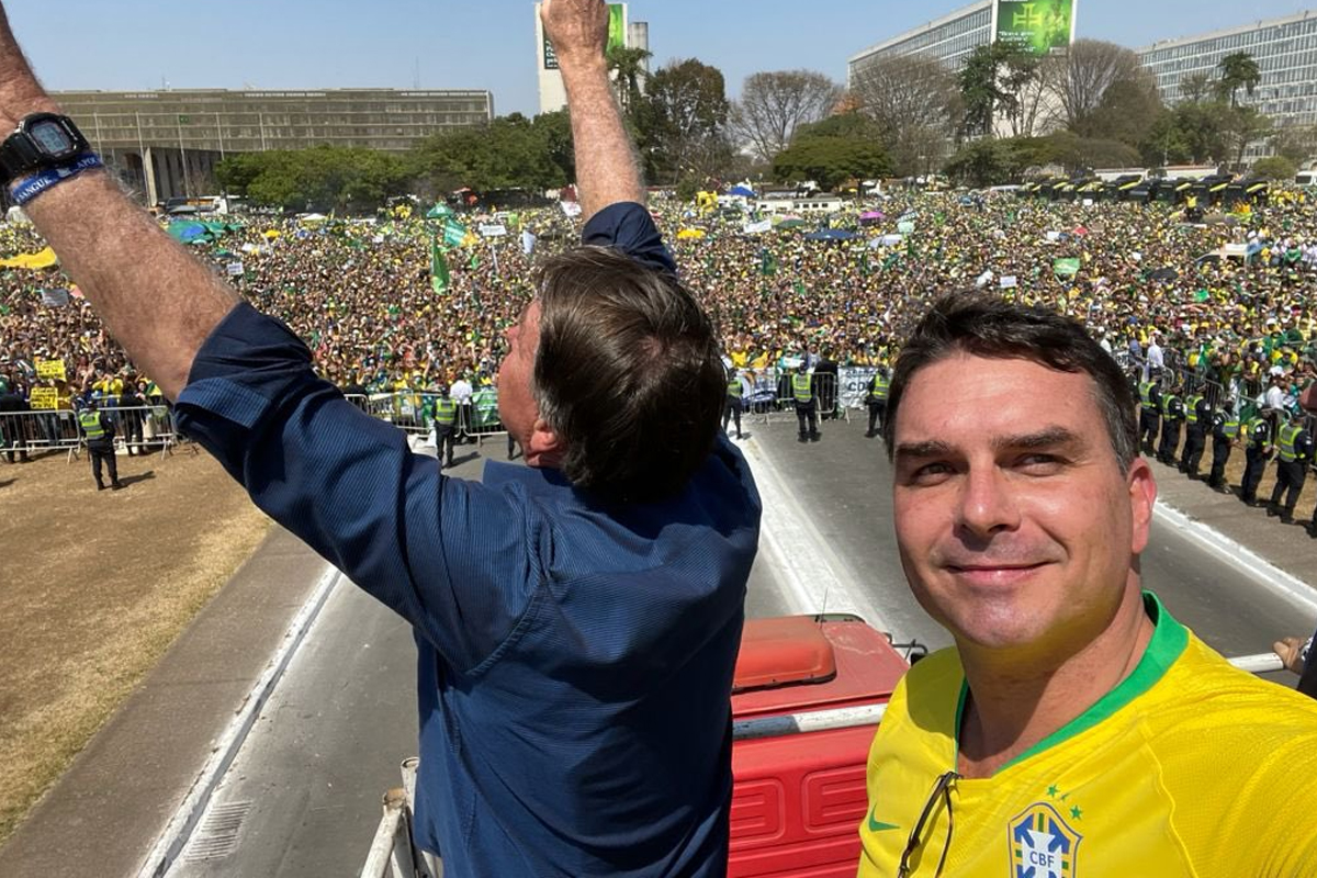 IMAGEM: Leia a íntegra do discurso de Bolsonaro no ato de 7 de Setembro em Brasília