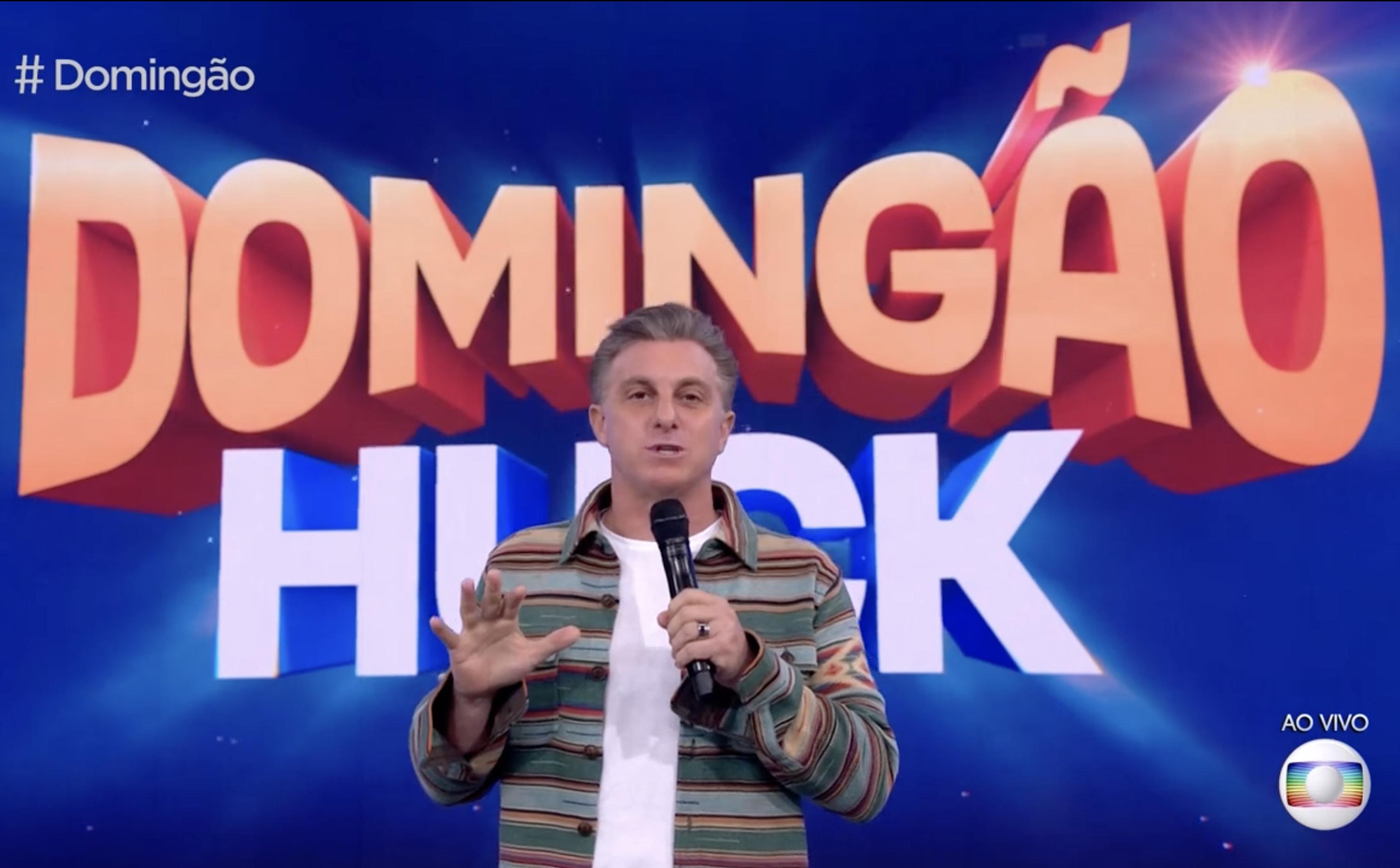 IMAGEM: Luciano Huck lidera a audiência em novo teste