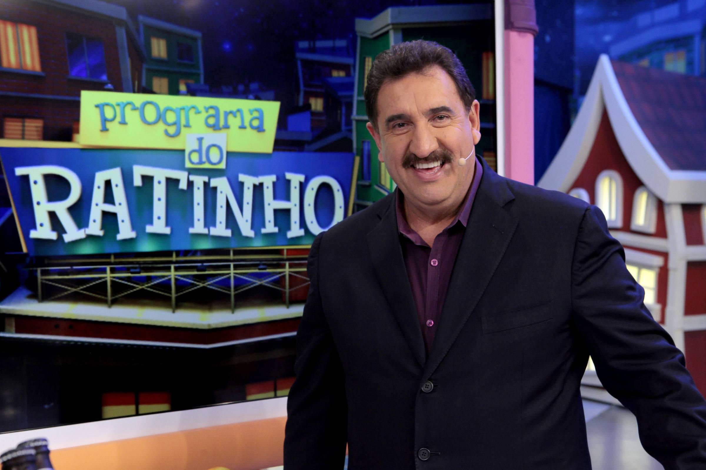 IMAGEM: Ratinho fica em terceiro lugar em dia de futebol no SBT