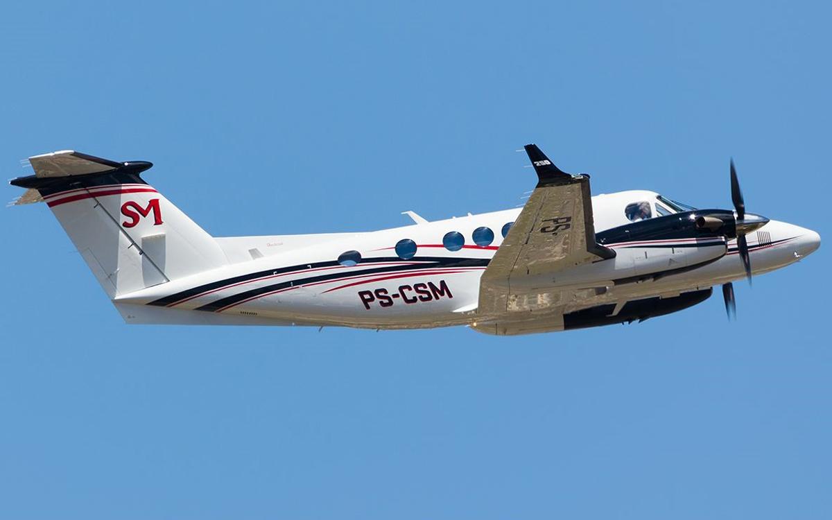 IMAGEM: Aeronave de irmão de Rubens Ometto cai em Piracicaba; não há sobreviventes