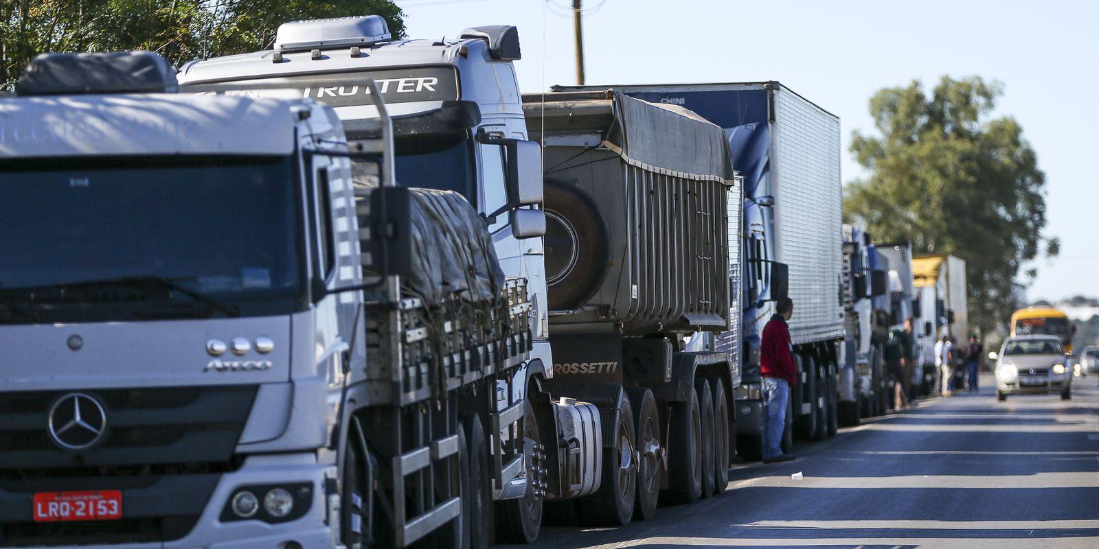 IMAGEM: Infraestrutura: bloqueios de caminhoneiros foram encerrados nas estradas federais