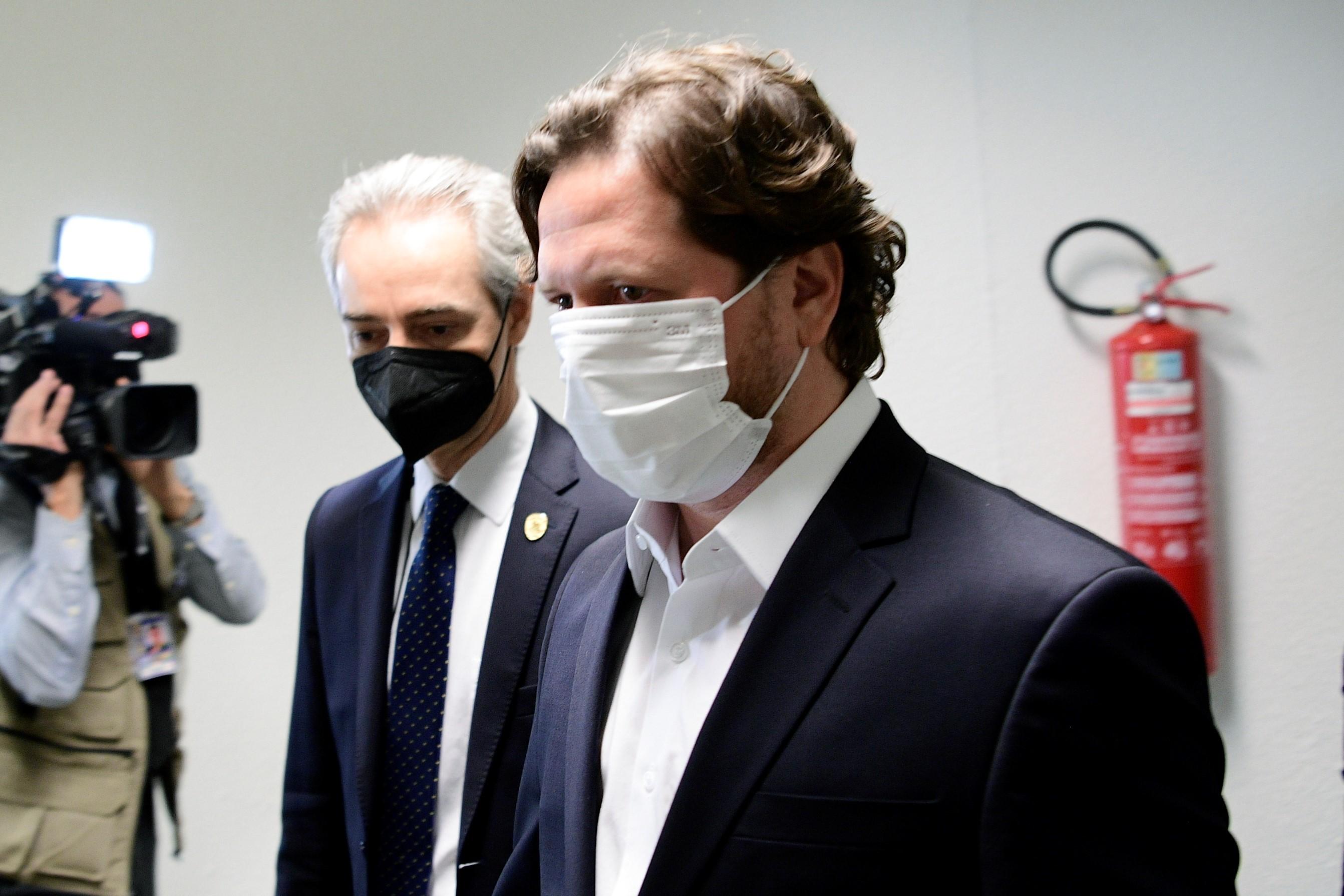 IMAGEM: Trento admite que esteve em eventos com família Bolsonaro