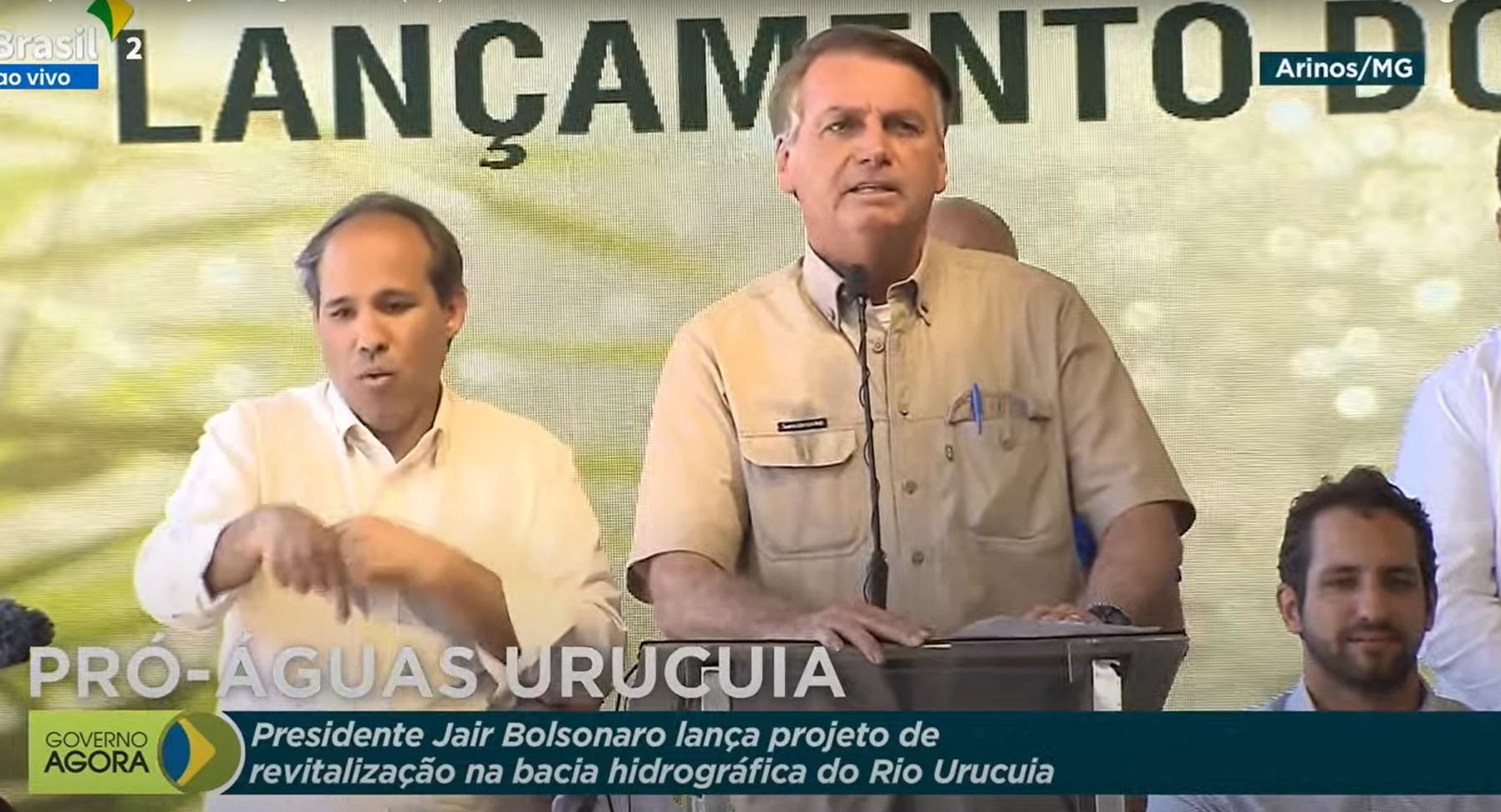 """IMAGEM: """"Lá, teremos verdades"""", diz Bolsonaro, sobre discurso na ONU"""
