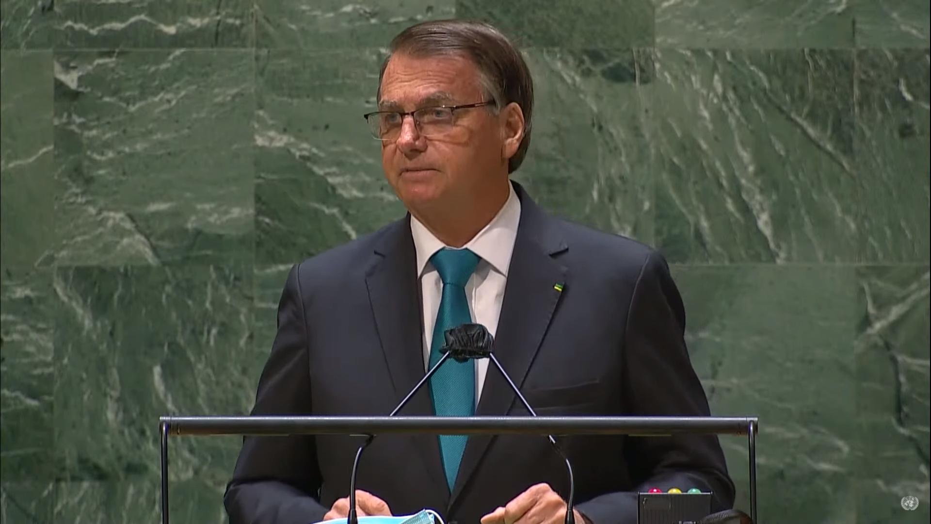 IMAGEM: Ambientalistas apontam 'afirmações delirantes' de Bolsonaro na ONU